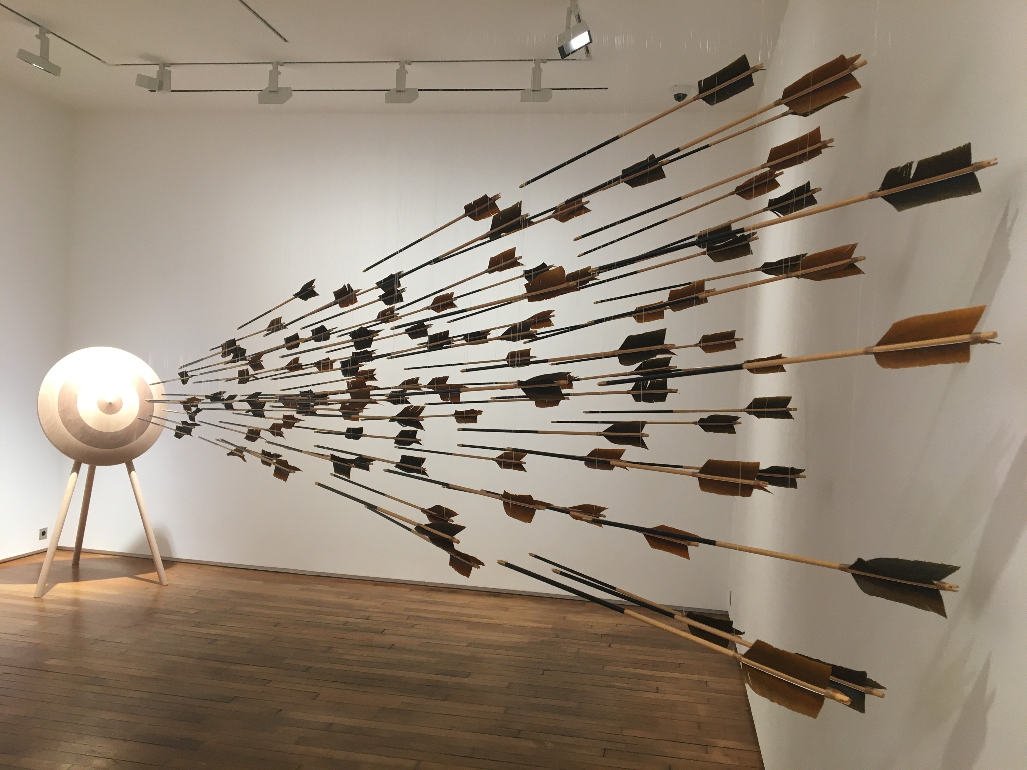 Amazone Érogène, Exposition Prune Nourry à la Galerie Templon, Paris